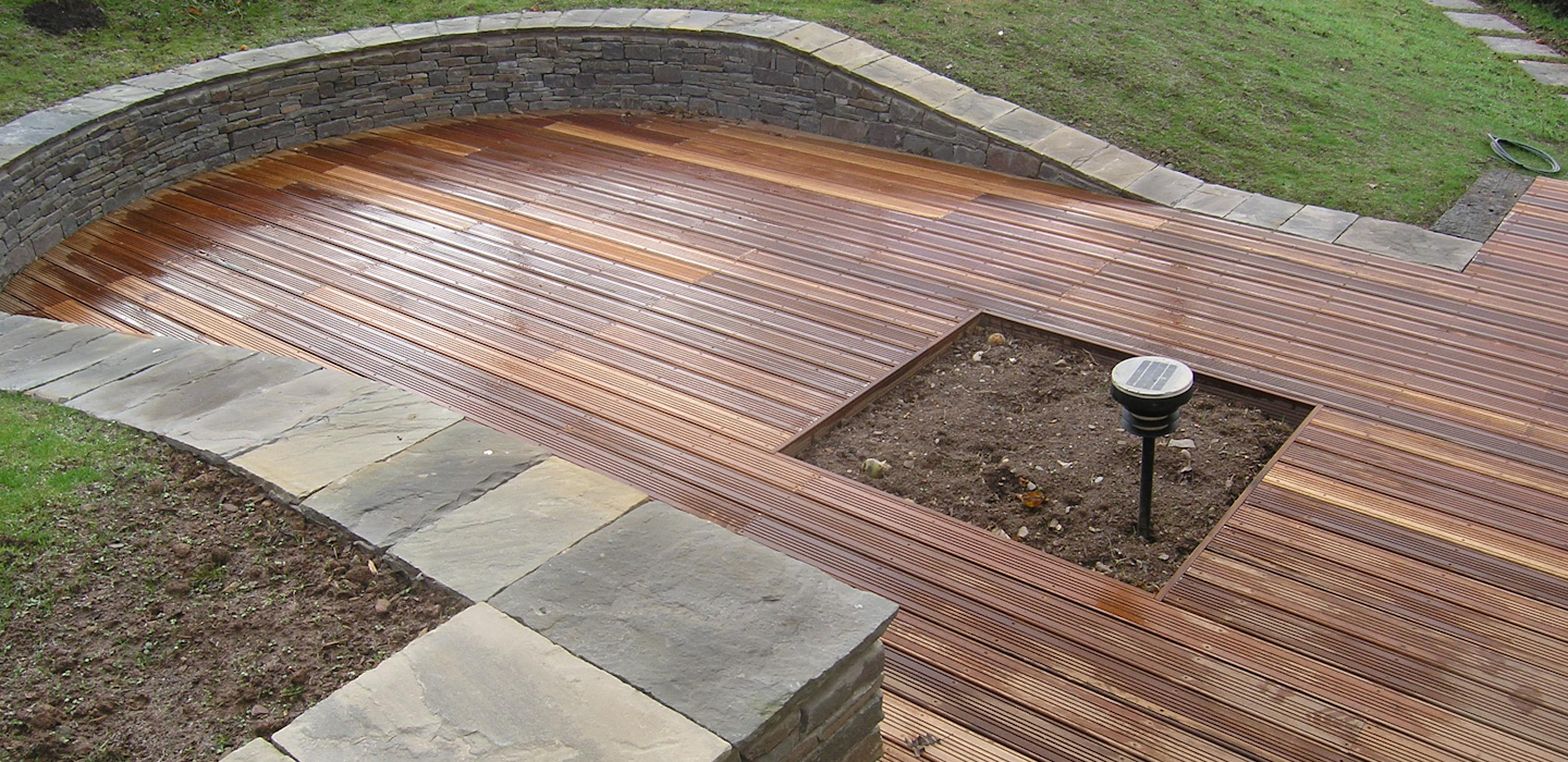 We do many types of deckingIt is not just decking